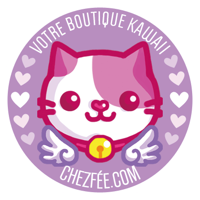 chezfee boutique kawaii shop cute france logo chat1