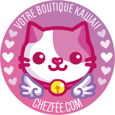chezfee boutique kawaii shop cute france logo chat2