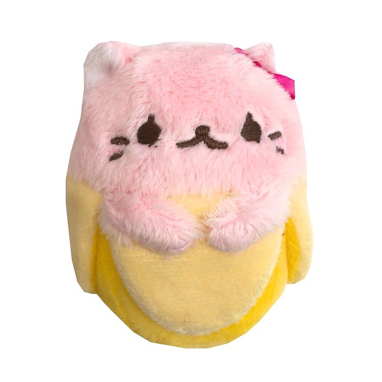 boutique kawaii shop france chezfee peluche japonais tedama bananya licence rose 1