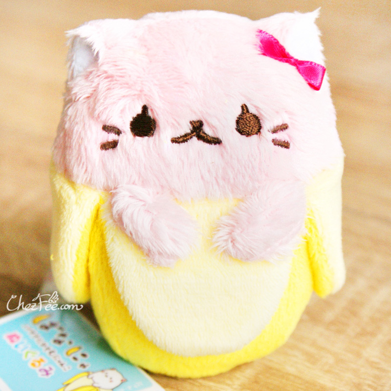 boutique kawaii shop france chezfee peluche japonais tedama bananya licence rose 2