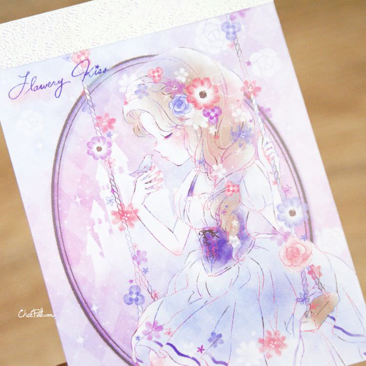 boutique kawaii shop papeterie chezfee mini carnet japonais kamio flower kiss 2