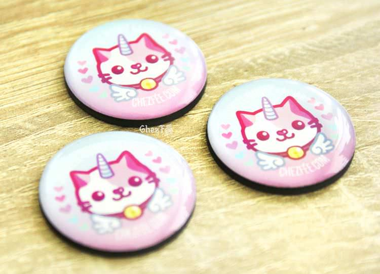 boutique kawaii chezfee cute shop magnette chat licorne lolita pastel 1