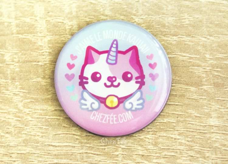 boutique kawaii chezfee cute shop magnette chat licorne lolita pastel 3
