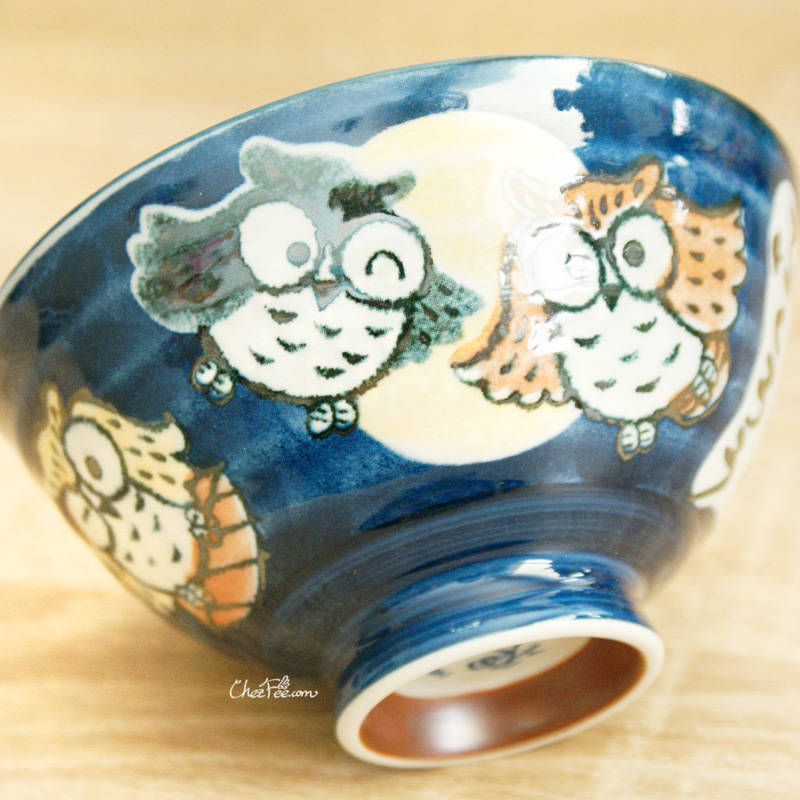 boutique kawaii shop chezfee vaisselle japonaise kawaii bol traditionnelle hibou 5