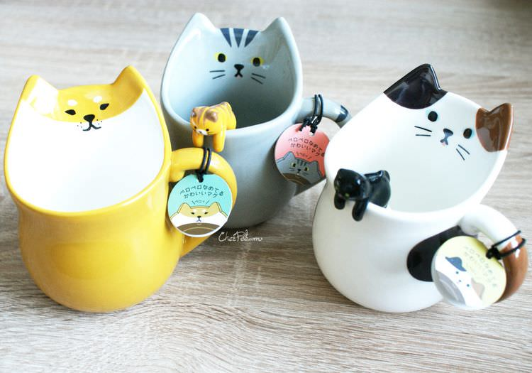 boutique kawaii shop chezfee cuisine neko chat mug tasse cuillere 1