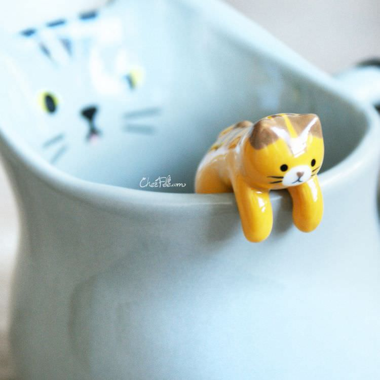 boutique kawaii shop chezfee cuisine neko chat tasse cuillere tigre 4