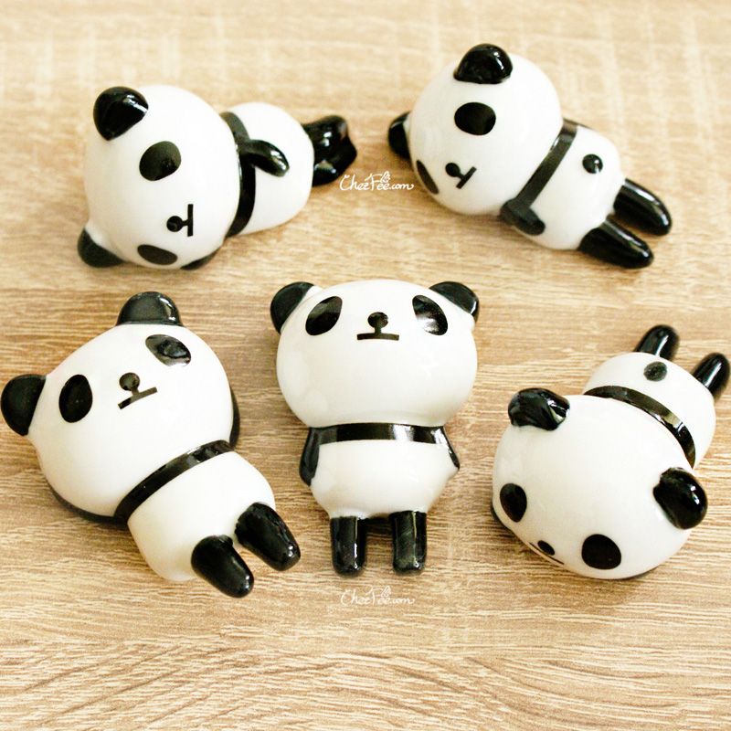 boutique kawaii shop chezfee repose baguette japonais ceramique lot panda rond 1