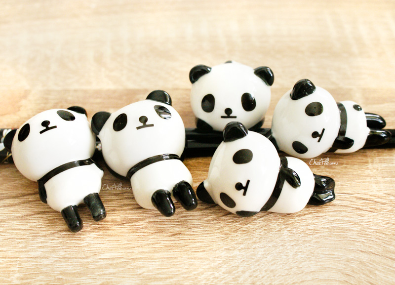 boutique kawaii shop chezfee repose baguette japonais ceramique lot panda rond 3