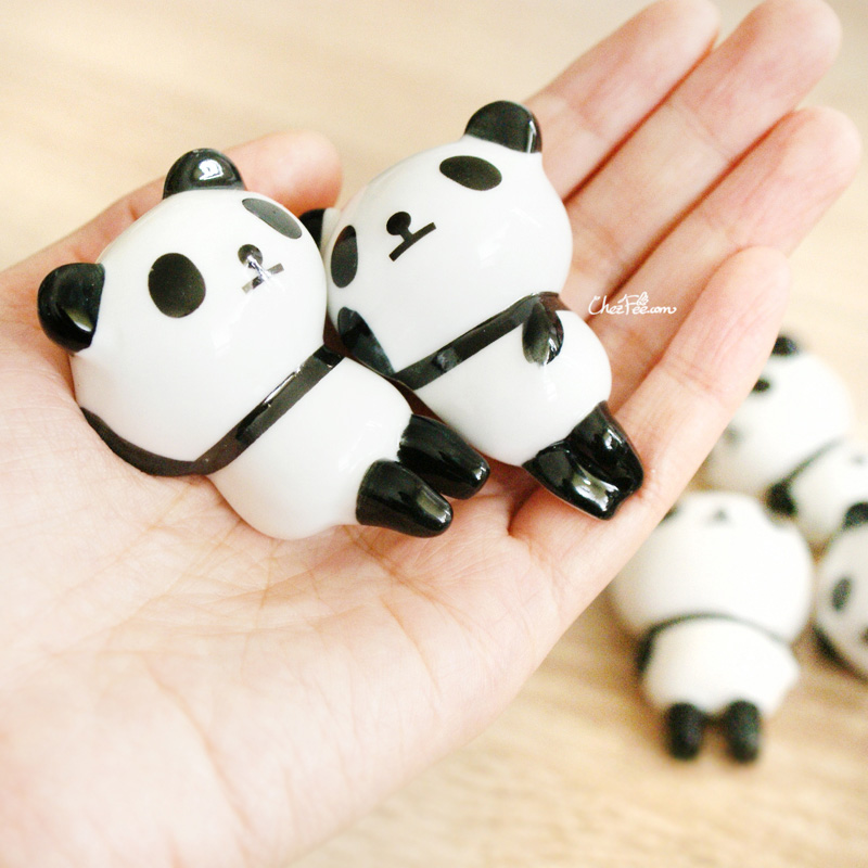 boutique kawaii shop chezfee repose baguette japonais ceramique lot panda rond 4
