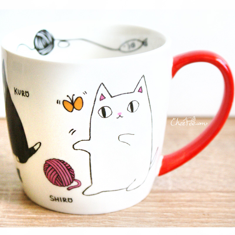 boutique kawaii shop chezfee mug japonais chat neko frere objets 1