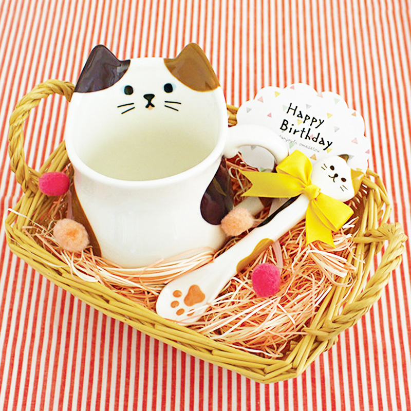 boutique kawaii shop chezfee cuillere japonais decole patte chat 4
