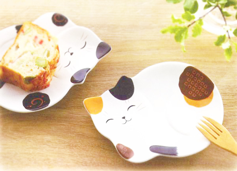 boutique kawaii shop chezfee assiette japonais yakushigama chat manekineko 3