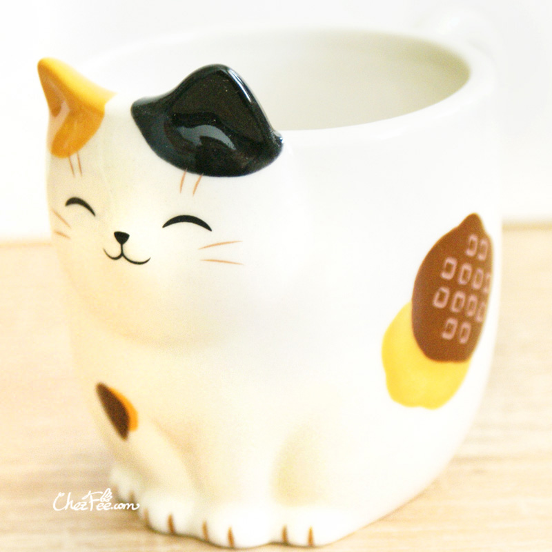 boutique kawaii shop chezfee mug tasse japonais yakushigama chat manekineko calico 1