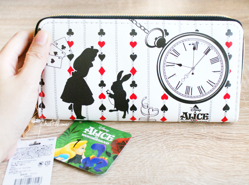 boutique kawaii shop chezfee portefeuille purse disney japan alice wonderland pays merveilles 3