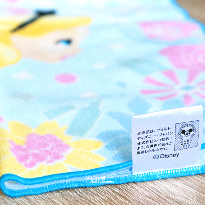 boutique kawaii shop chezfee serviette coton disney japan alice wonderland pays merveilles 2