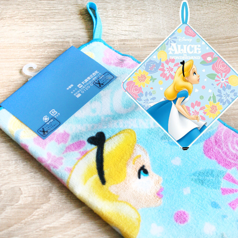 boutique kawaii shop chezfee serviette coton disney japan alice wonderland pays merveilles 3