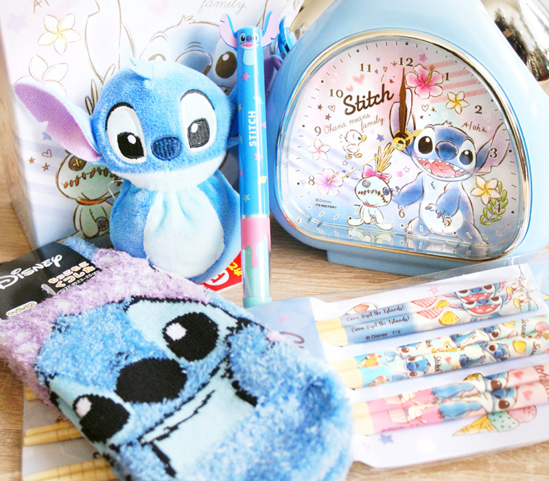 boutique kawaii shop chezfee chaussettes disney japan stitch collection 2s