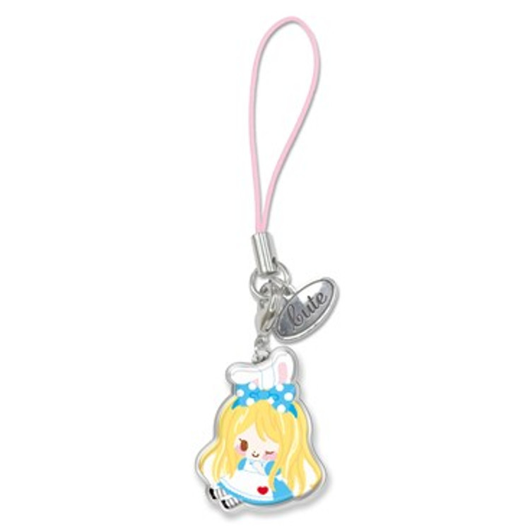 boutique kawaii shop chezfee disney japan charm strap alice wonderland pays merveilles chibi 5