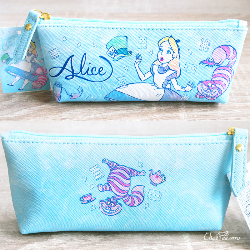 boutique kawaii shop chezfee disney japan papeterie trousse alice wonderland pays merveilles chechire 2