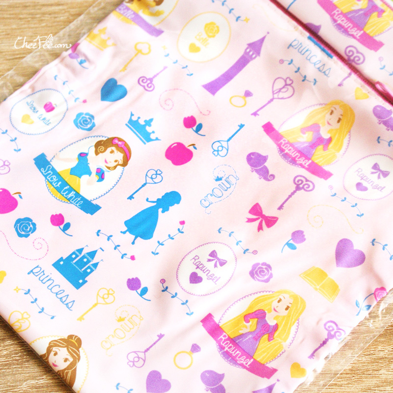 boutique kawaii shop chezfee disney japan papeterie trousse pochette princesses 3