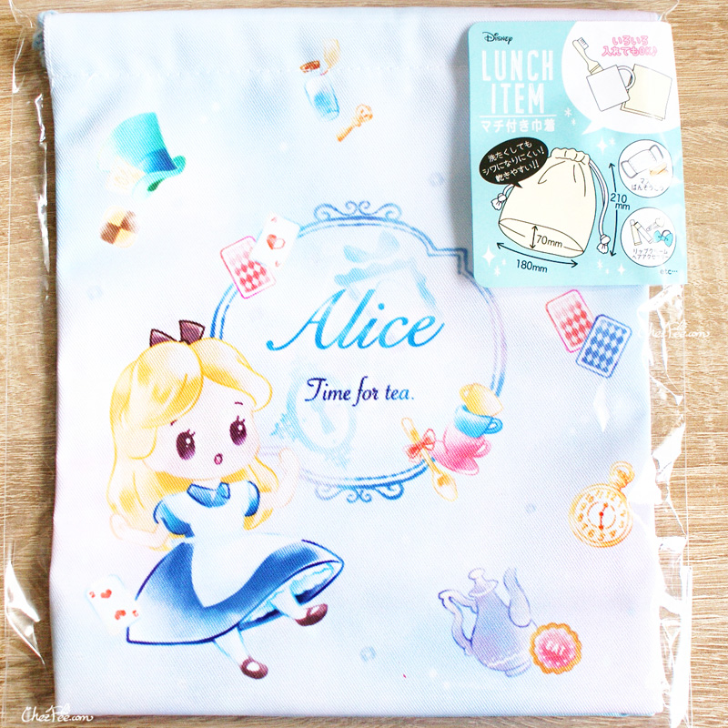 boutique kawaii shop chezfee disney japan pochon sac vrac alice wonderland pays merveilles chibi 1