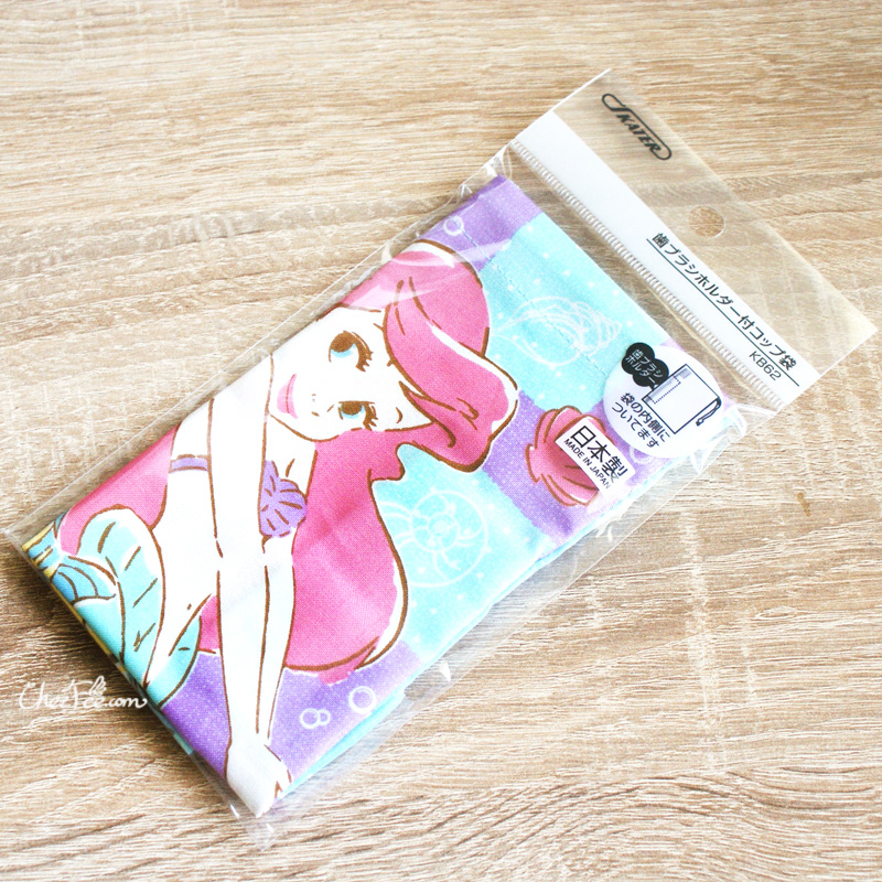 boutique kawaii shop chezfee disney japan pochon sac vrac coton ariel princesse 2