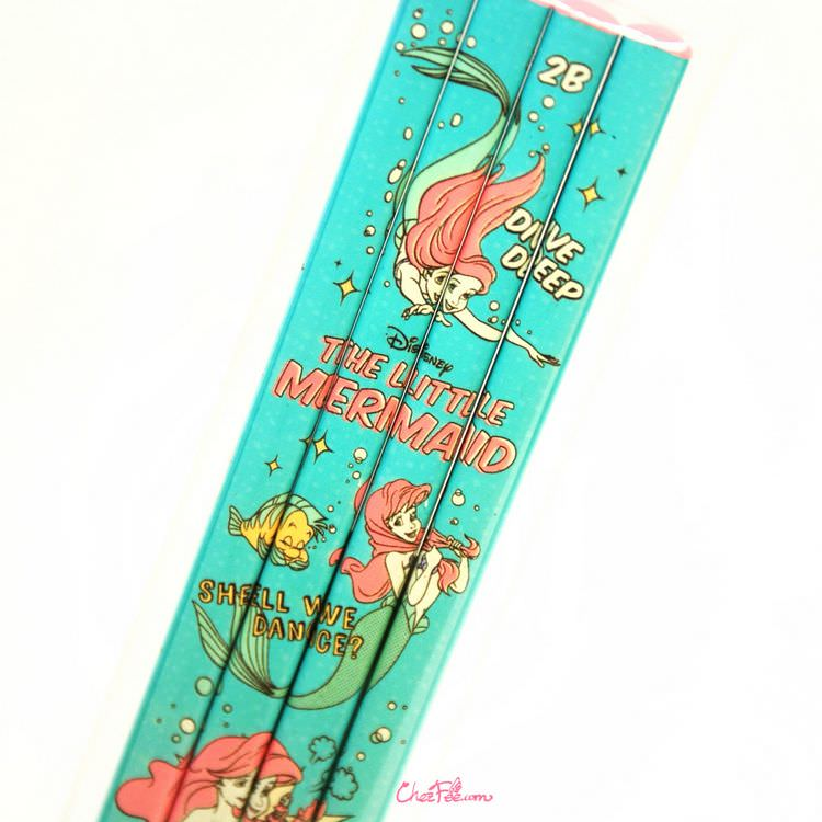 boutique kawaii shop france japonais chezfee disney japan ariel sirene crayons lot 2