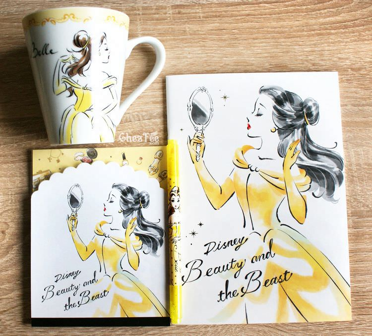 boutique kawaii shop chezfee papeterie disney japan princesse belle bete 1