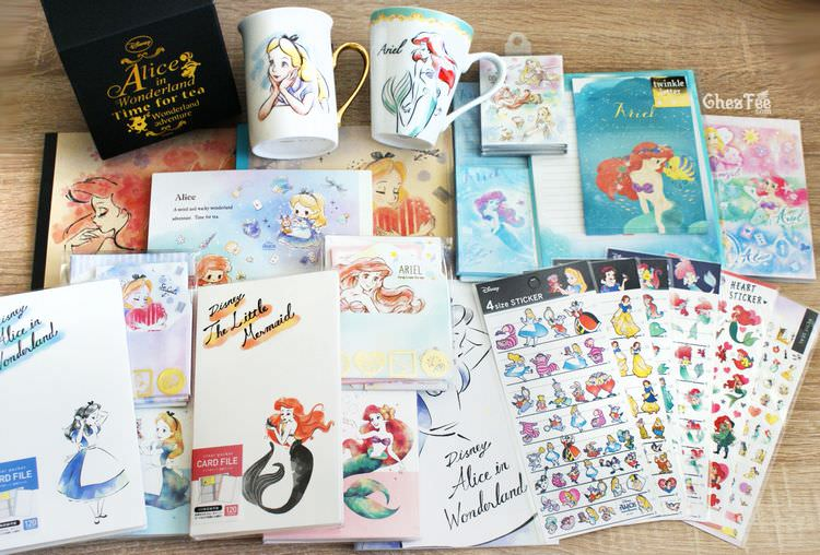 boutique kawaii shop chezfee disney japon papeterie ariel alice 1