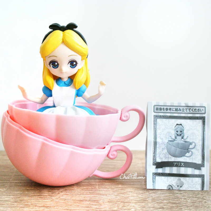 boutique kawaii shop chezfee gashapon figurine disney princesses posket heroine doll alice 1
