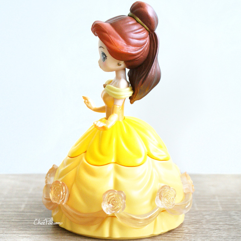 boutique kawaii shop chezfee gashapon figurine disney princesses posket heroine doll belle robe 4
