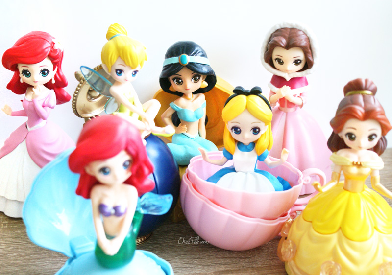boutique kawaii shop chezfee gashapon figurine disney princesses posket heroine doll filles 2