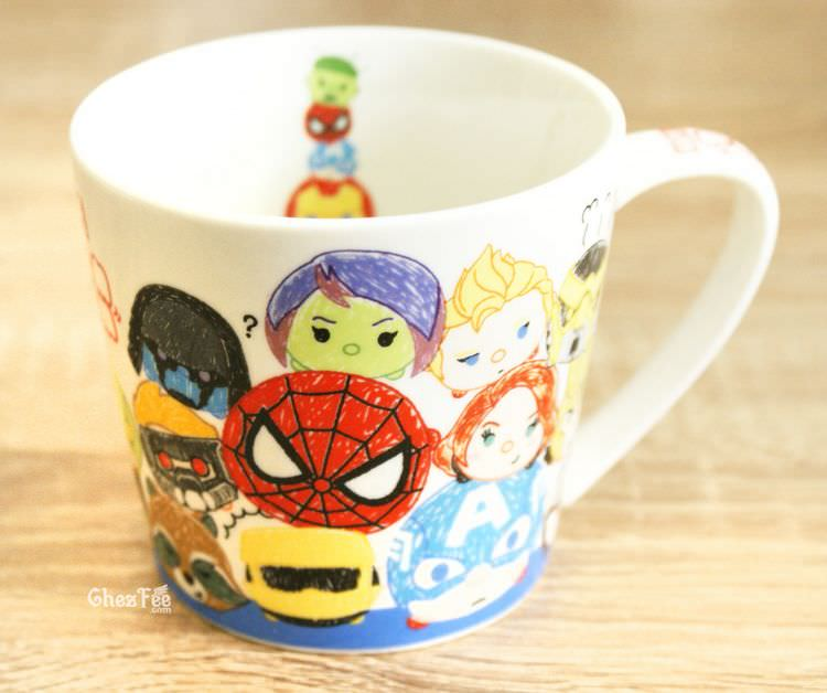 boutique kawaii shop chezfee tsumtsum disney mug dessin marvel 2
