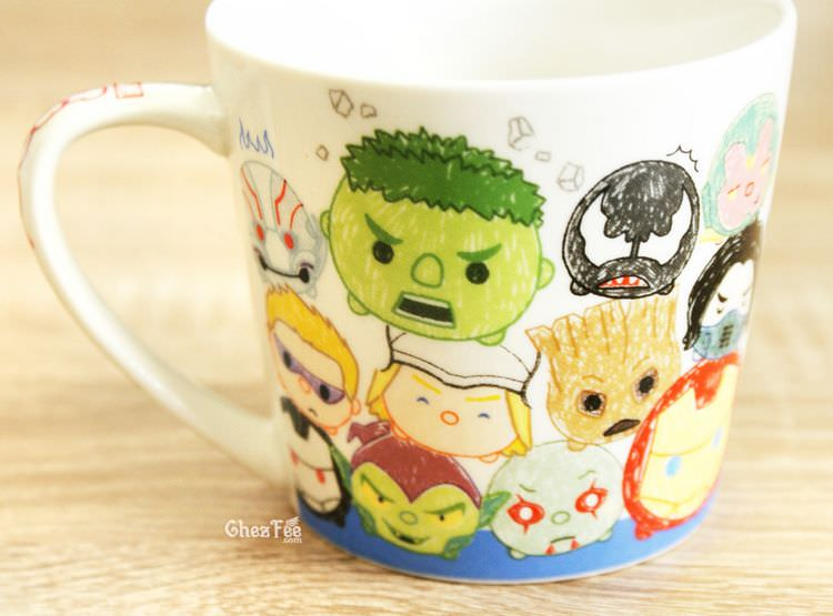 boutique kawaii shop chezfee tsumtsum disney mug dessin marvel 3