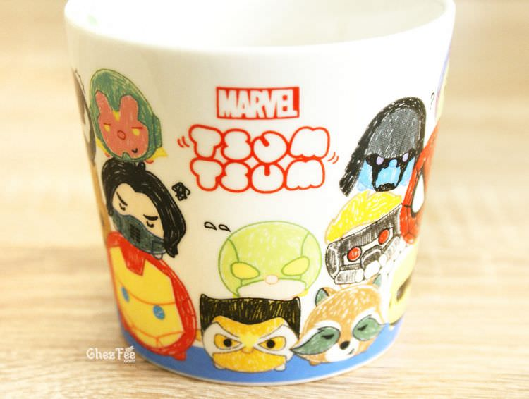 boutique kawaii shop chezfee tsumtsum disney mug dessin marvel 4