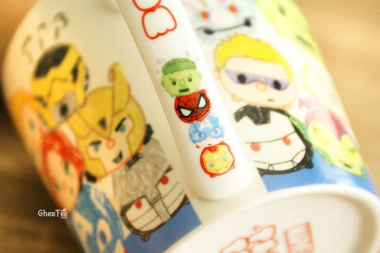 boutique kawaii shop chezfee tsumtsum disney mug dessin marvel 5