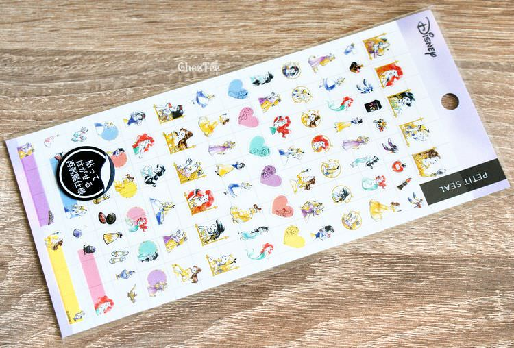 boutique kawaii shop chezfee disney japan proncesse sticker multi colle 1