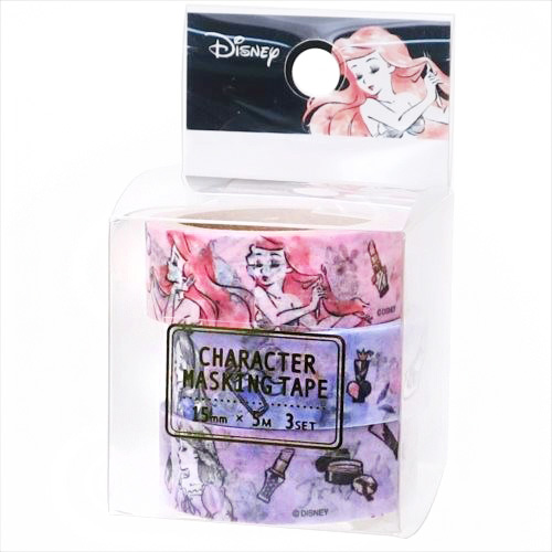 boutique kawaii shop chezfee france disney japan ariel alice lot washi masking tape 1