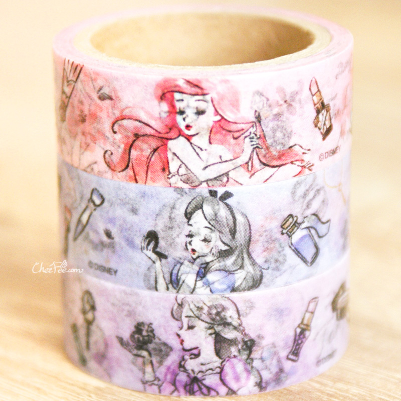 boutique kawaii shop chezfee france disney japan ariel alice lot washi masking tape 2