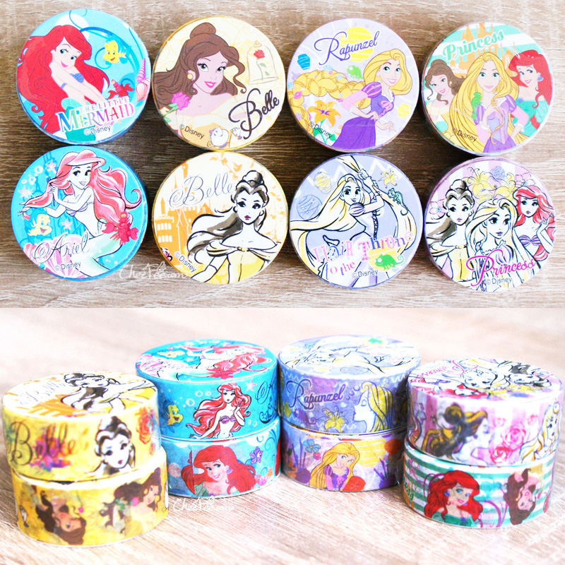 boutique kawaii shop chezfee disney japan princesses masking tape sticker 1