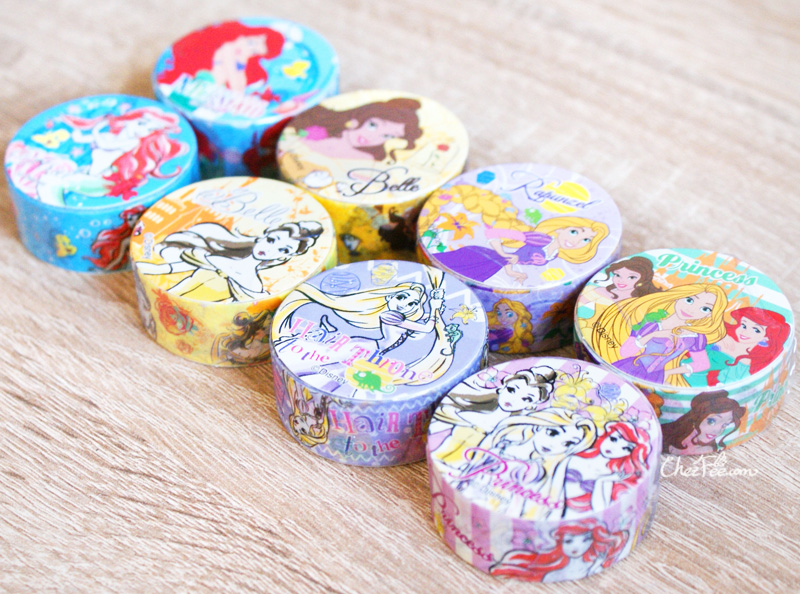 boutique kawaii shop chezfee disney japan princesses masking tape sticker 2