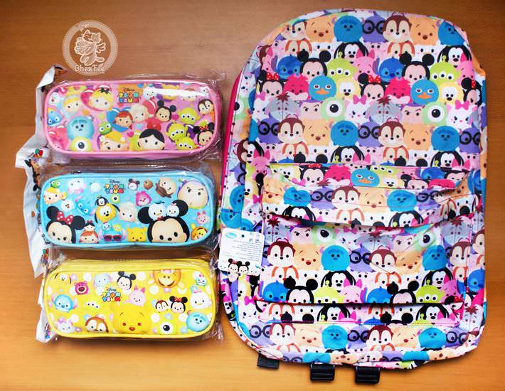 boutique kawaii shop cute disney japan tsum tsum chezfee trousse sac a dos 1