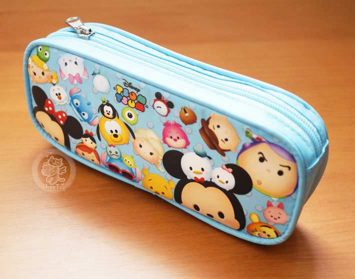 boutique kawaii shop cute disney japan tsum tsum chezfee trousse stylo bleu 1