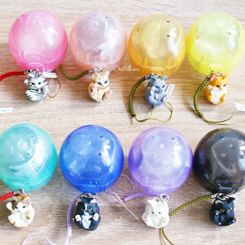 boutique kawaii shop chezfee object gashapon blindbox chat roule rond 3