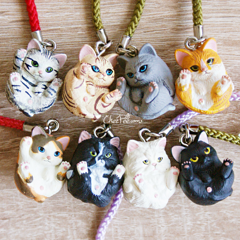 boutique kawaii shop chezfee object gashapon blindbox chat roule rond 4