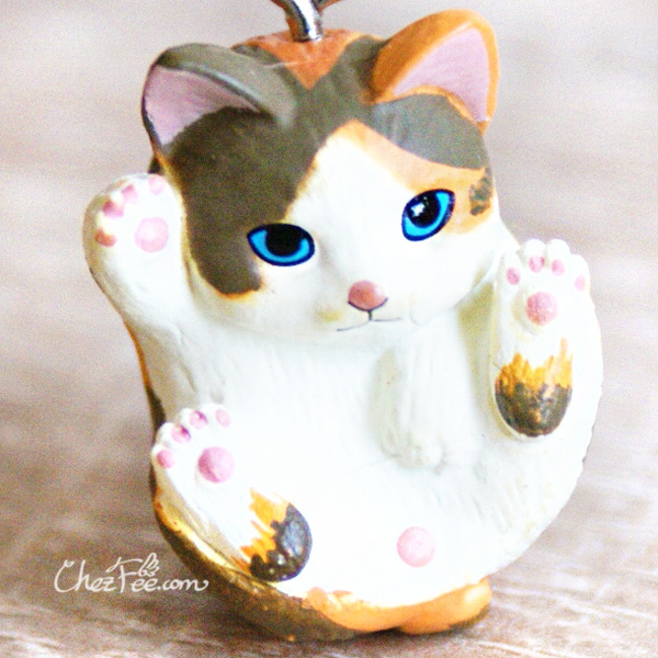boutique kawaii shop chezfee object gashapon blindbox chat roule rond calico 1