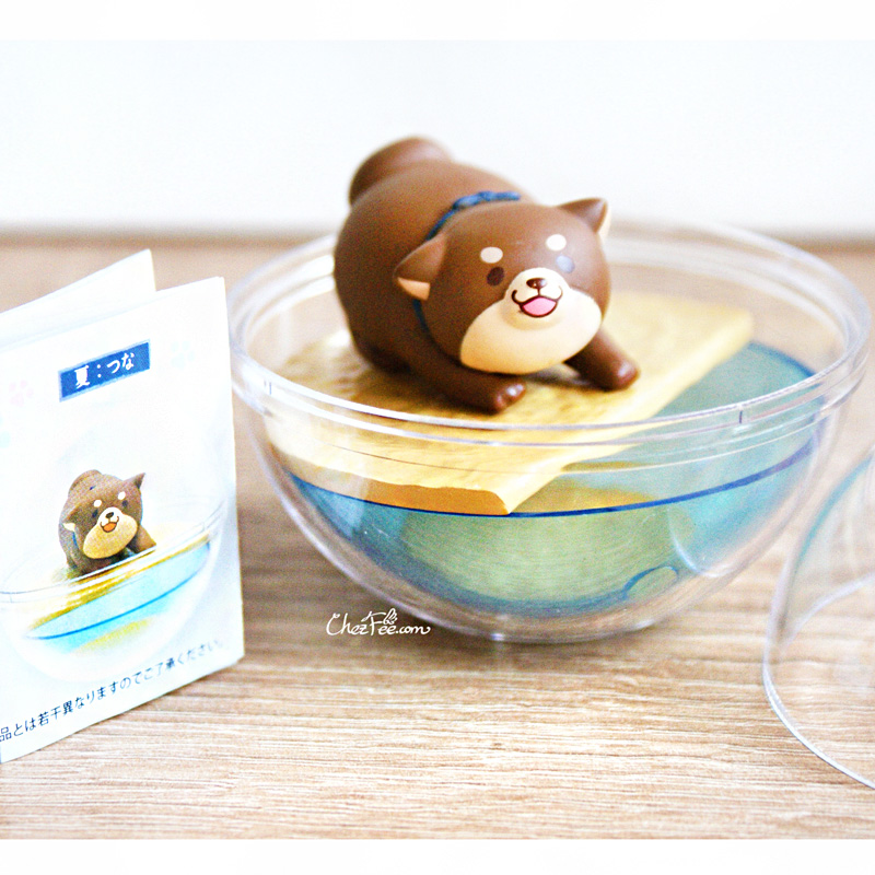 boutique kawaii shop chezfee gashapon figurine japonais mochi shiba inu seasonal terrarium printemps ete 1