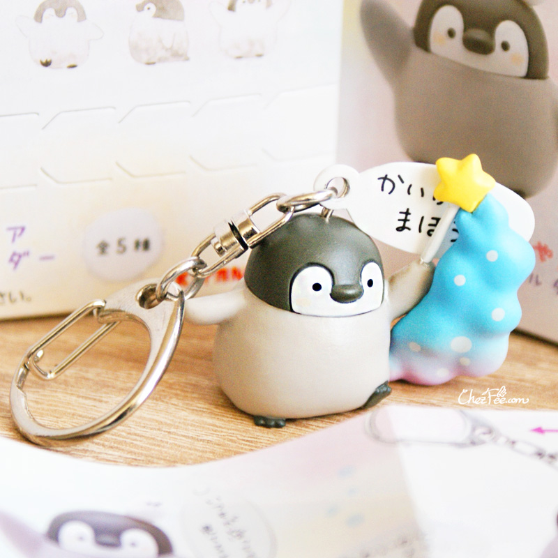 boutique kawaii shop france chezfee boite mysterieuse blind box pingouin porte clef 7