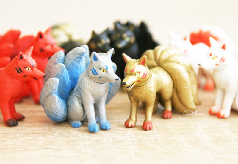 boutique kawaii shop chezfee gashapon renard neuf queue kyubiku 3