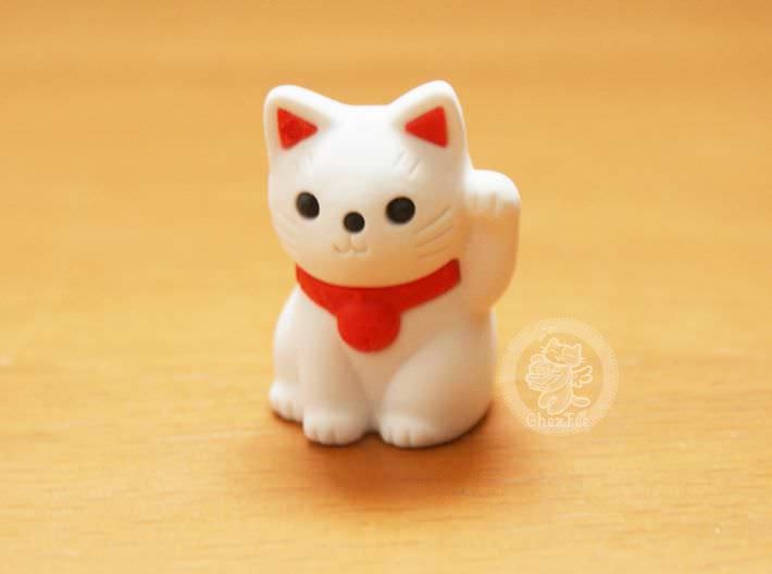 boutique kawaii shop france chezfee com cute papeterie gomme eraser iwako japan japon manekineko blanc1